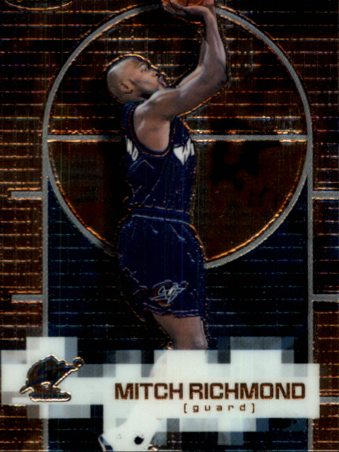 2000-01 Finest #124 Mitch Richmond