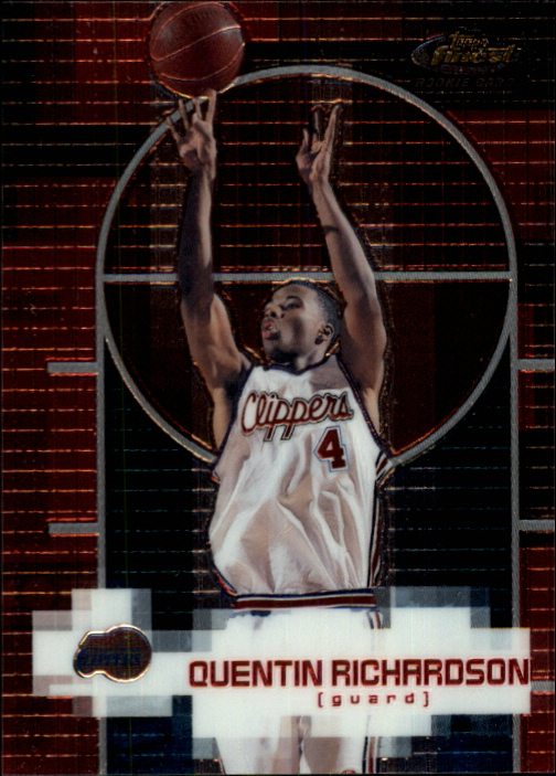 2000-01 Finest #142 Quentin Richardson RC