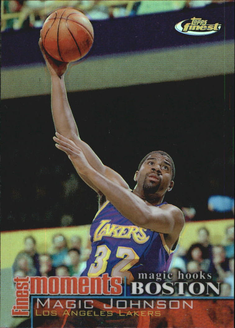 2000-01 Finest Moments Refractors #FMMJ Magic Johnson