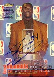 2000-01 Finest Moments Refractors Autographs #FMSO2 Shaquille O'Neal