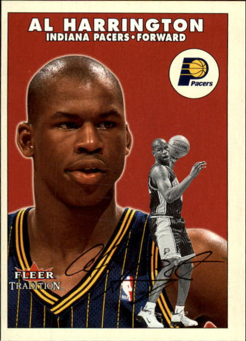 2000-01 Fleer #87 Al Harrington