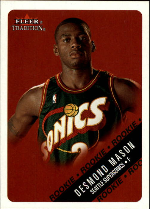 2000-01 Fleer #247 Desmond Mason RC