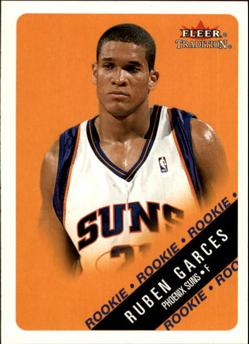 2000-01 Fleer #250 Ruben Garces RC
