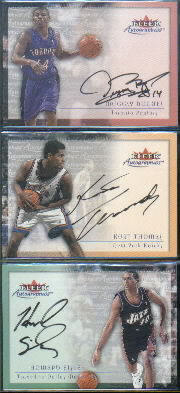 2000-01 Fleer Autographics #6 Muggsy Bogues
