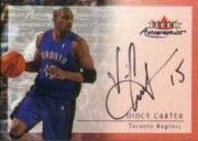 2000-01 Fleer Autographics #9 Vince Carter