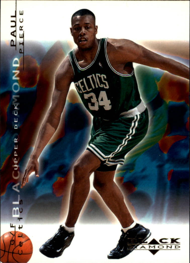 2000-01 Black Diamond #4 Paul Pierce