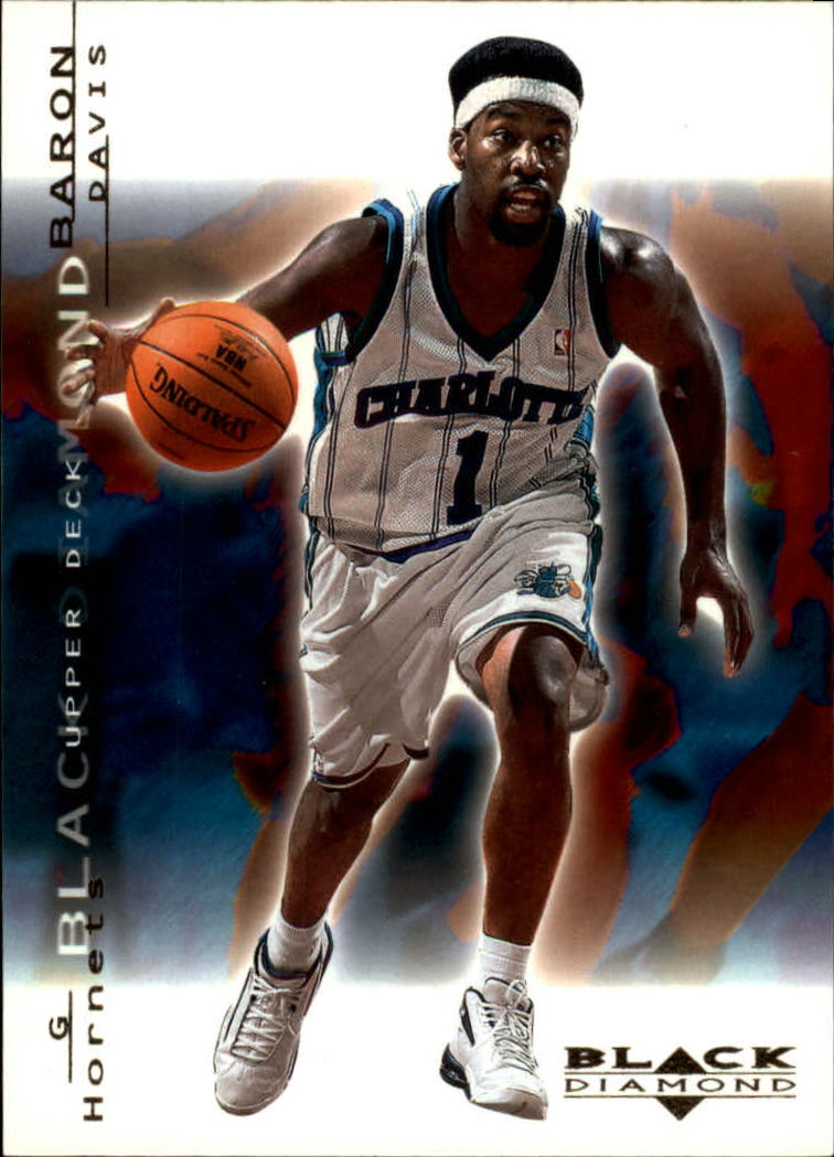 2000-01 Black Diamond #9 Baron Davis