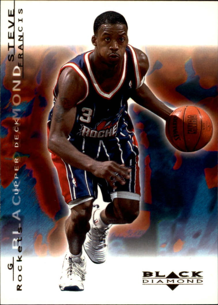 2000-01 Black Diamond #28 Steve Francis