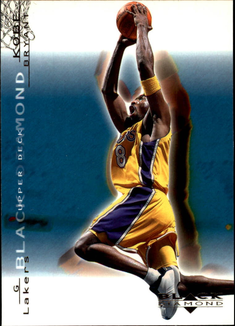 2000-01 Black Diamond #38 Kobe Bryant
