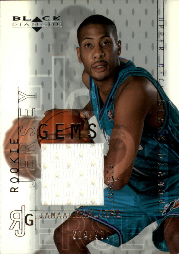2000-01 Black Diamond #127 Jamaal Magloire JSY RC