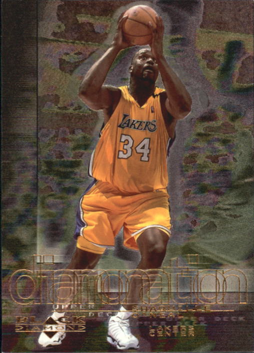 2000-01 Black Diamond Diamonation #D8 Shaquille O'Neal