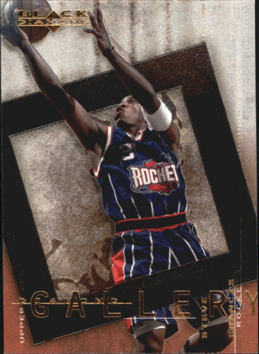 2000-01 Black Diamond Gallery #DG6 Steve Francis