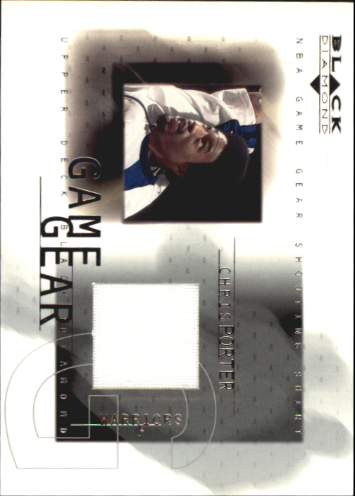 2000-01 Black Diamond Game Gear #CP Chris Porter