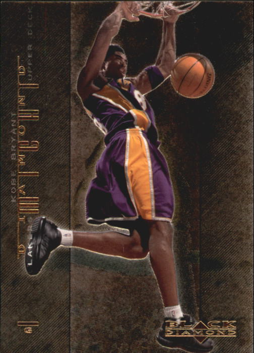 2000-01 Black Diamond Might #DM11 Kobe Bryant