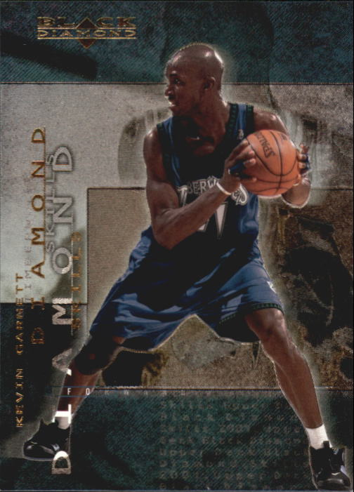 2000-01 Black Diamond Skills #DS1 Kevin Garnett