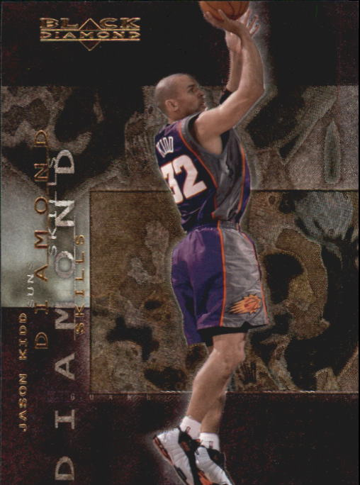 2000-01 Black Diamond Skills #DS2 Jason Kidd