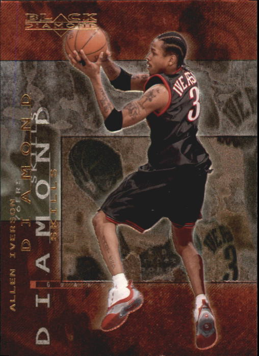 2000-01 Black Diamond Skills #DS3 Allen Iverson