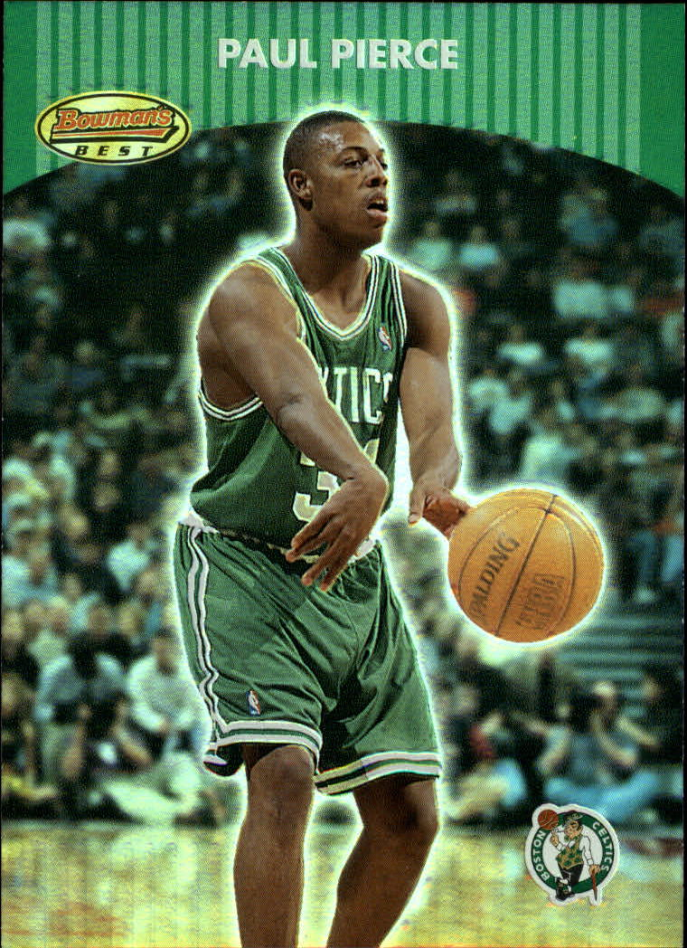 2000-01 Bowman's Best #61 Paul Pierce