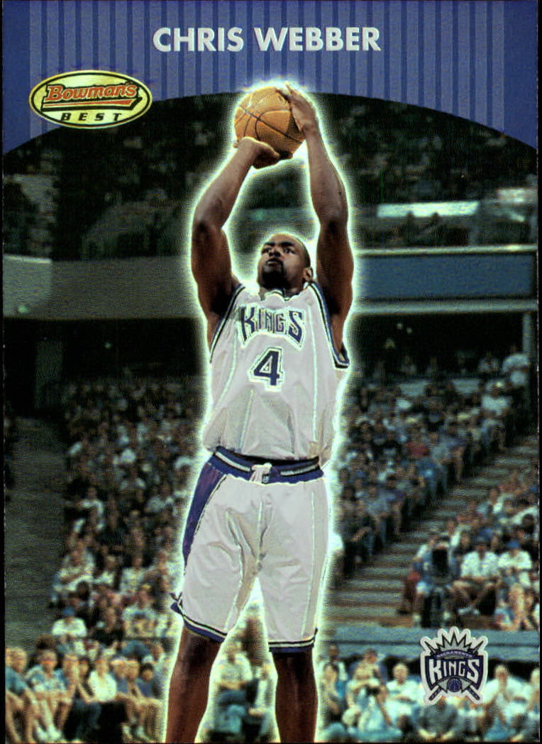 2000-01 Bowman's Best #80 Chris Webber