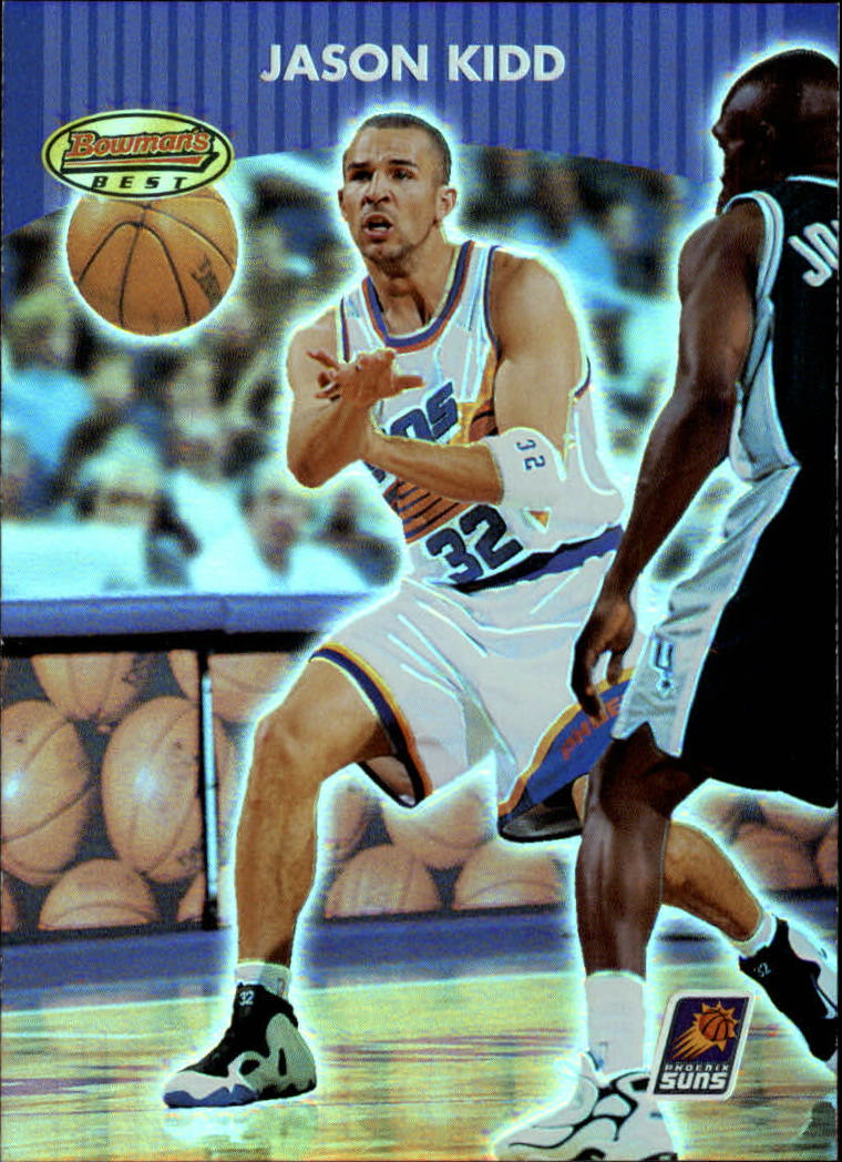 2000-01 Bowman's Best #100 Jason Kidd