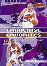 2000-01 Bowman's Best Franchise Favorites #FFJ5 Jason Kidd/Anfernee Hardaway JSY