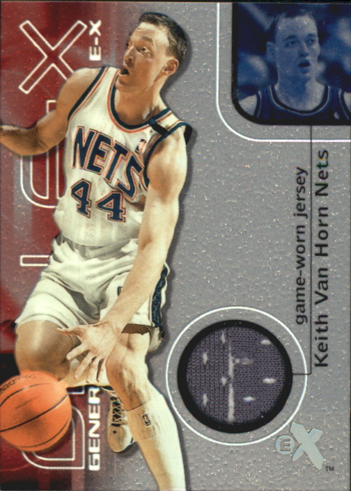 2000-01 E-X Generation E-X Game Jerseys #GE5 Keith Van Horn