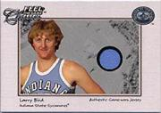 2001 Greats of the Game Feel the Game Classics #2 Larry Bird