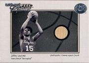 2001 Greats of the Game Feel the Game Hardwood Classics #12 John Lucas SP