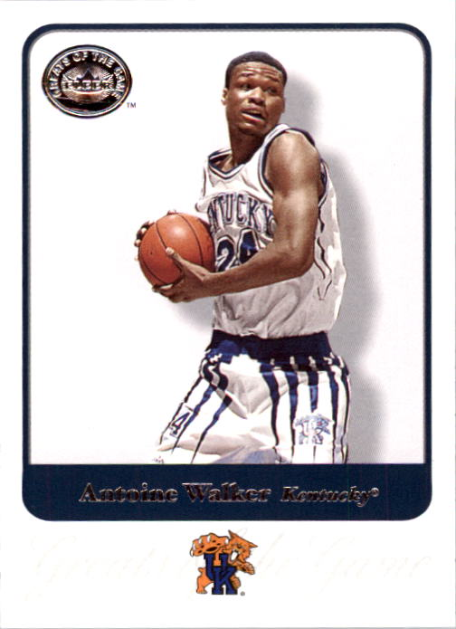 2001 Greats of the Game #4 Antoine Walker