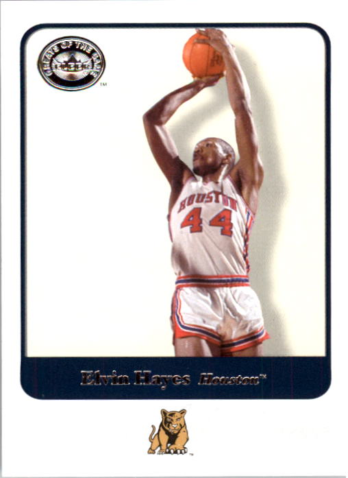 2001 Greats of the Game #25 Elvin Hayes front image