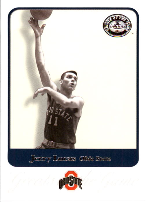2001 Greats of the Game #35 Jerry Lucas front image