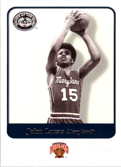 2001 Greats of the Game #43 John Lucas