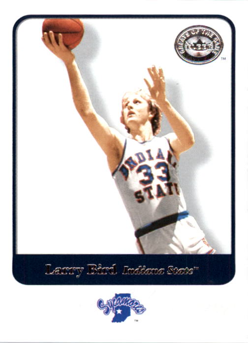 2001 Greats of the Game #49 Larry Bird front image