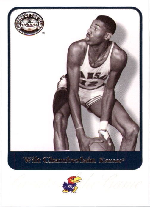 2001 Greats of the Game #75 Wilt Chamberlain front image