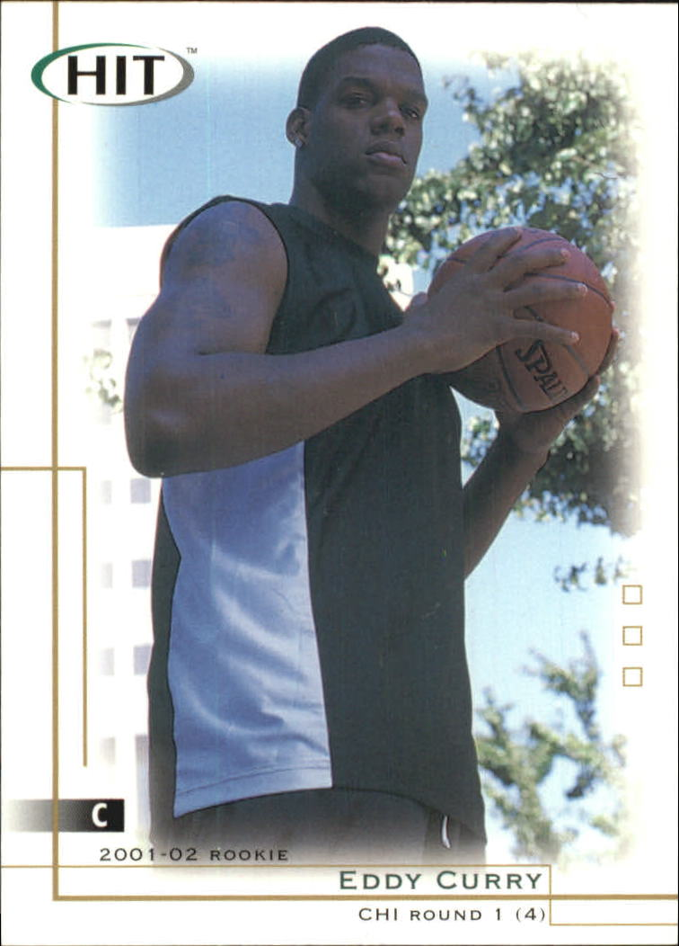 2001 SAGE HIT #4 Eddy Curry