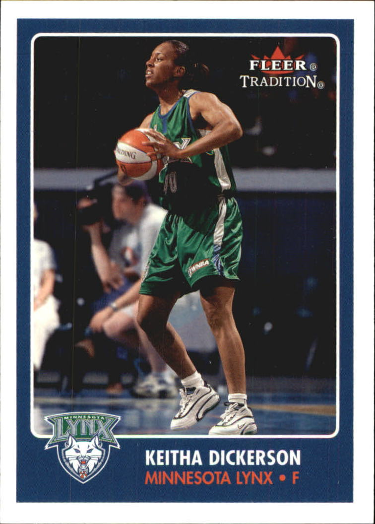 2001 Fleer WNBA #11 Keitha Dickerson RC