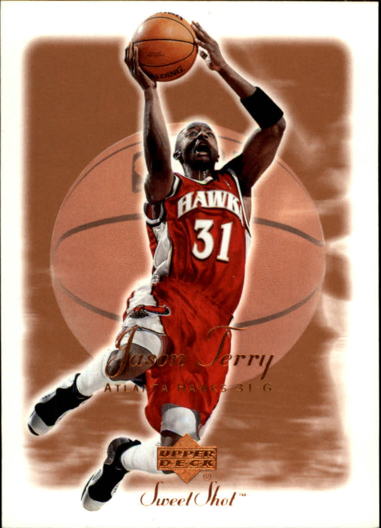 2001-02 Sweet Shot #1 Jason Terry