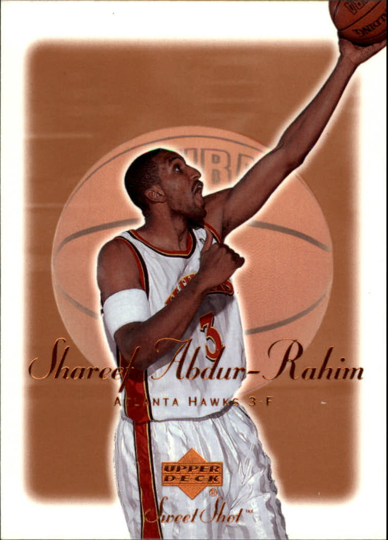 2001-02 Sweet Shot #2 Shareef Abdur-Rahim