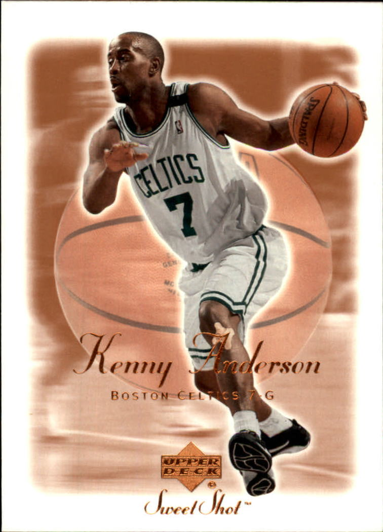 2001-02 Sweet Shot #6 Kenny Anderson