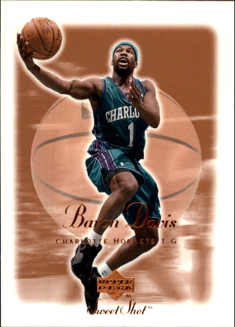 2001-02 Sweet Shot #7 Baron Davis