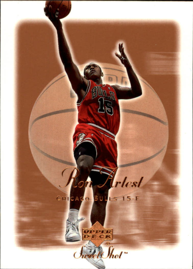 2001-02 Sweet Shot #11 Ron Artest