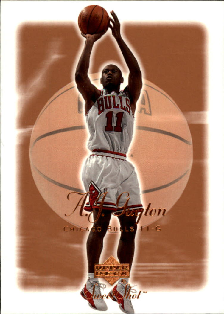 2001-02 Sweet Shot #12 A.J. Guyton