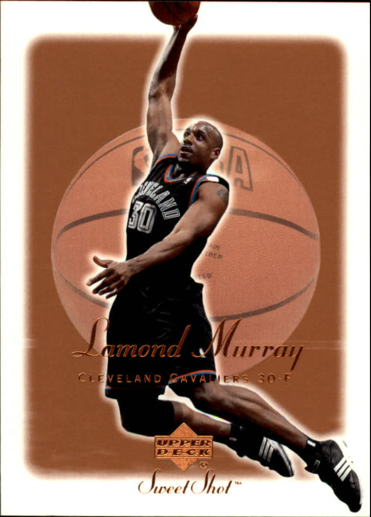 2001-02 Sweet Shot #14 Lamond Murray