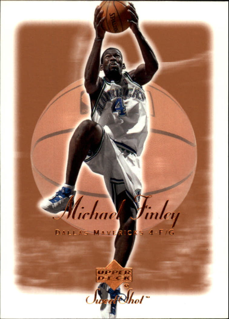 2001-02 Sweet Shot #16 Michael Finley