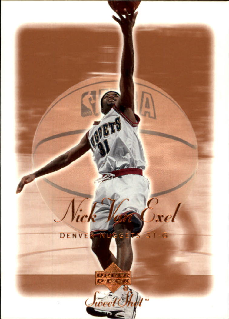 2001-02 Sweet Shot #20 Nick Van Exel