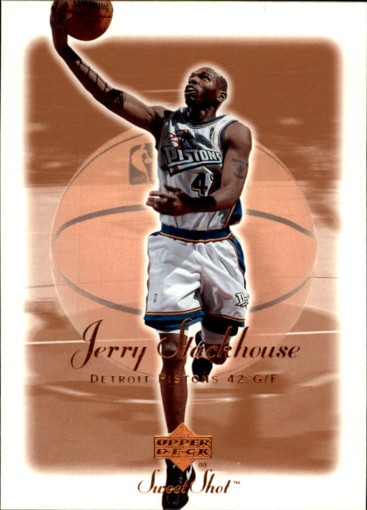 2001-02 Sweet Shot #22 Jerry Stackhouse