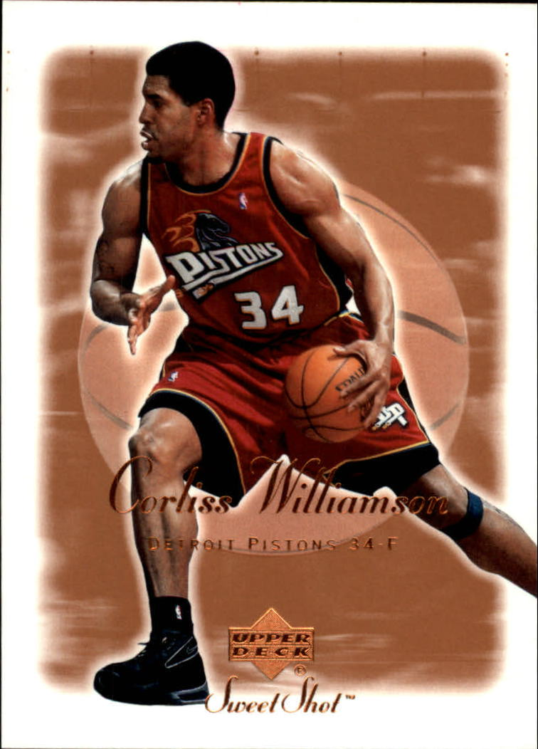 2001-02 Sweet Shot #24 Corliss Williamson