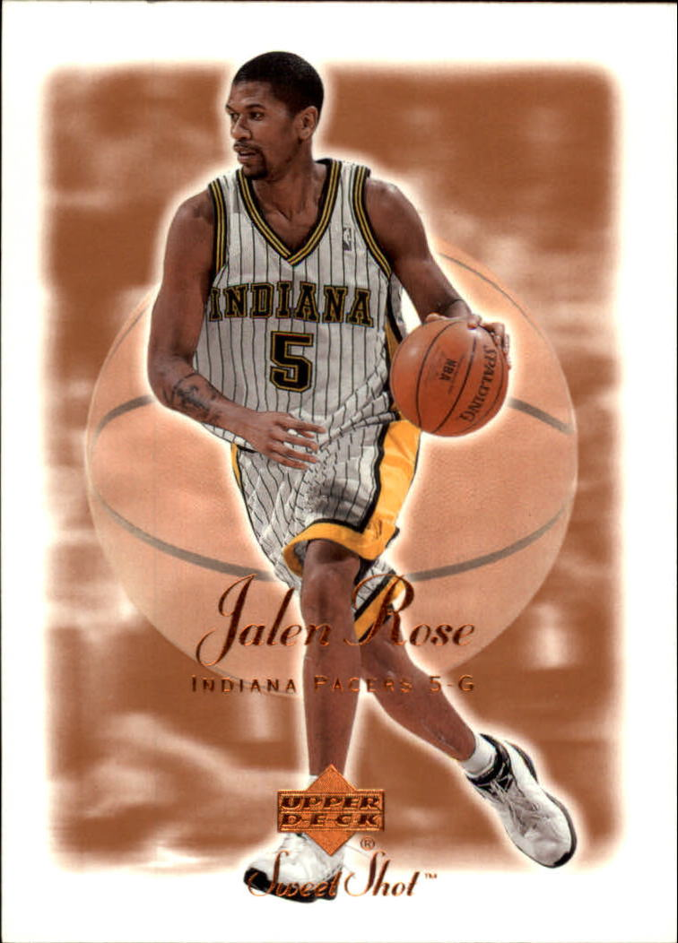 2001-02 Sweet Shot #32 Jalen Rose