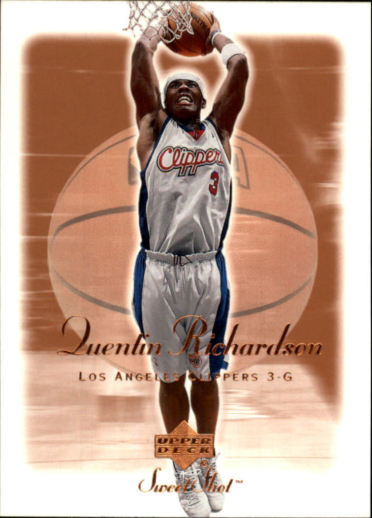 2001-02 Sweet Shot #37 Quentin Richardson