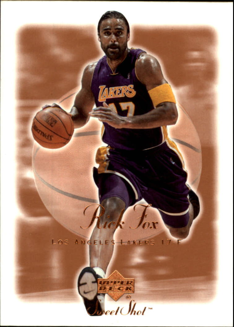 2001-02 Sweet Shot #40 Rick Fox